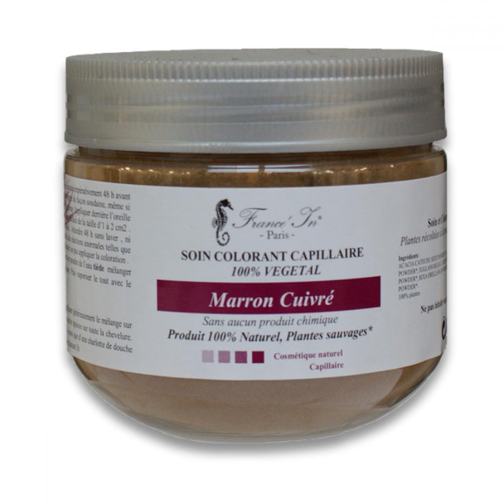 soins colorants 100% naturels marron_cuivre-coloration-vegetale-france-in-paris