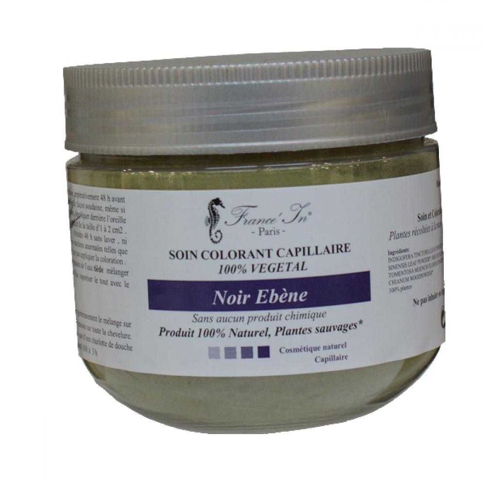 soins colorants 100% naturels noir-ebene-coloration-vegetale-france-in-paris
